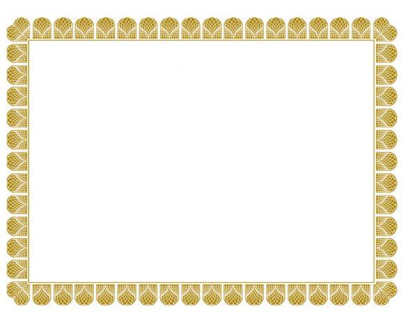 certificate border 13