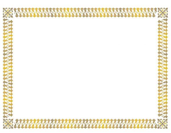 certificate border 14