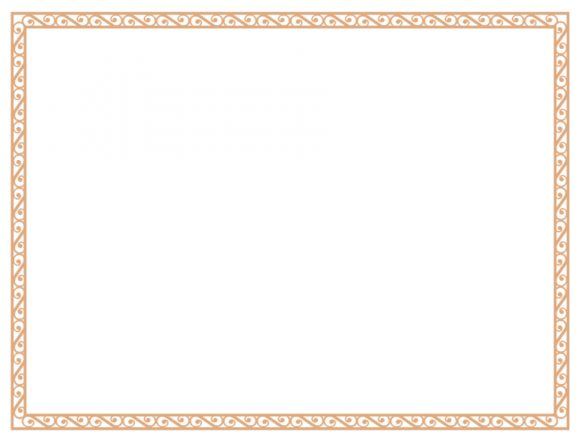 certificate border 17