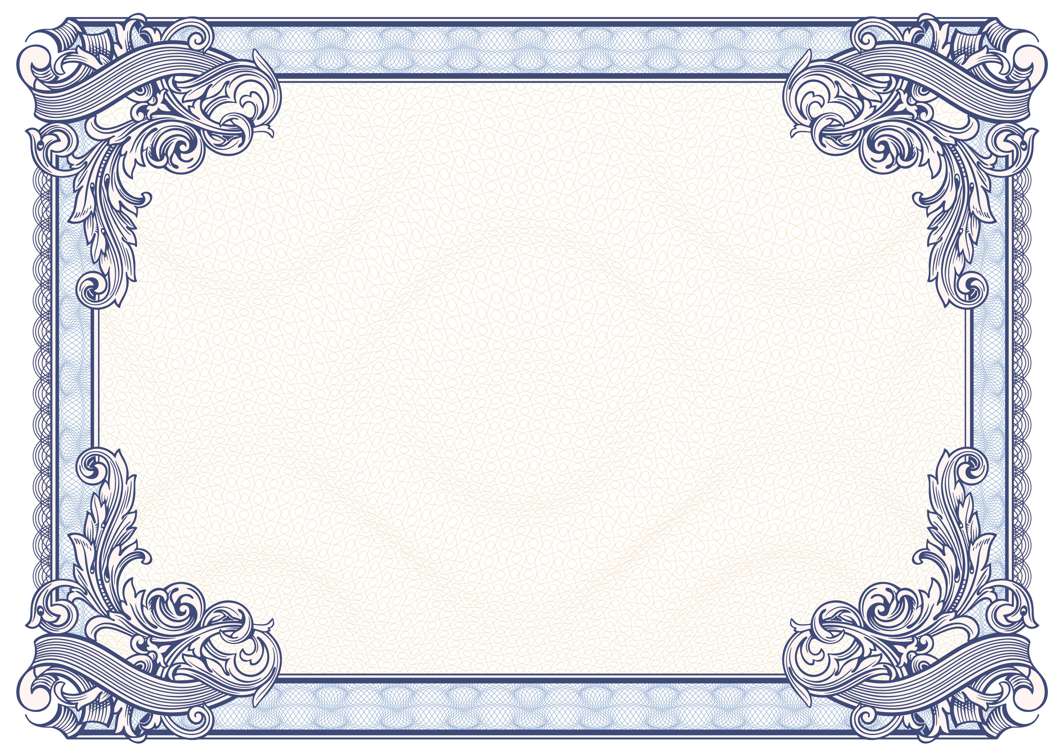 21+ Beautiful Certificate Border Templates & Designs Throughout Word Border Templates Free Download