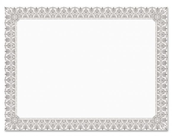 certificate border 38