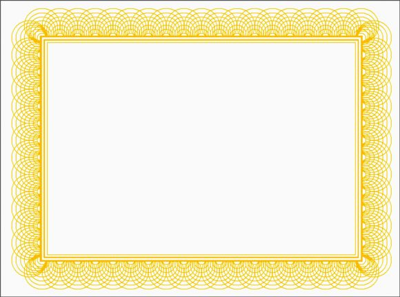 certificate border 40