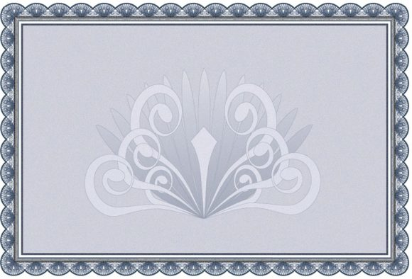 certificate border 41