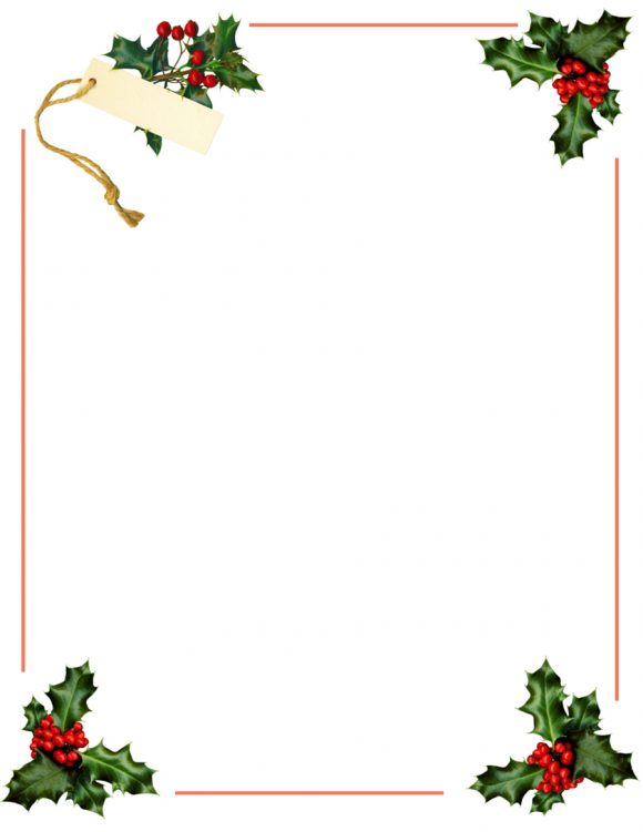 Free Christmas Borders.40 Free Christmas Borders And Frames Printable Templates