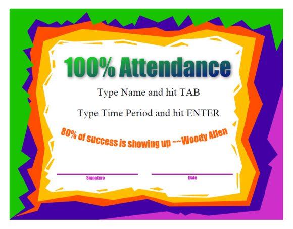 perfect attendance award 03