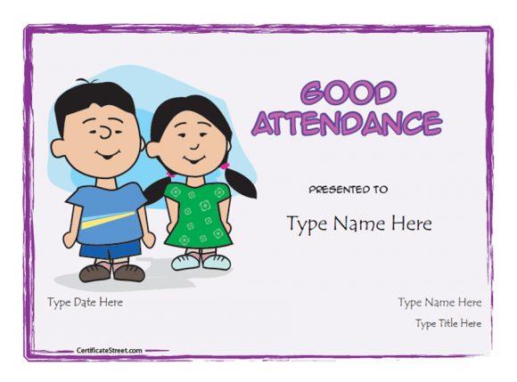 perfect attendance award 08