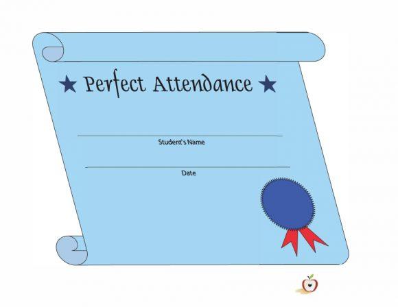 perfect attendance award 11