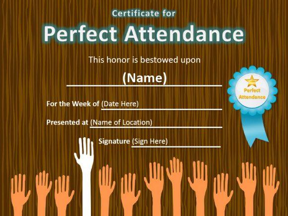 perfect attendance award 15