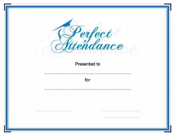 perfect attendance award 21