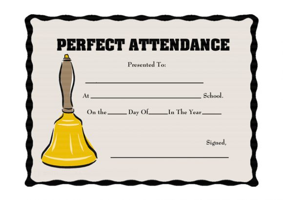 perfect attendance award 24