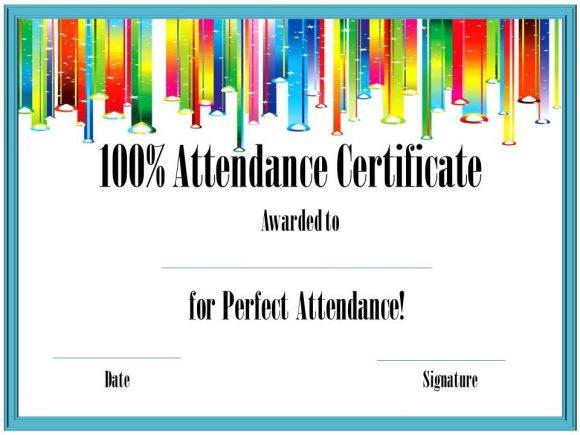 perfect attendance award 29