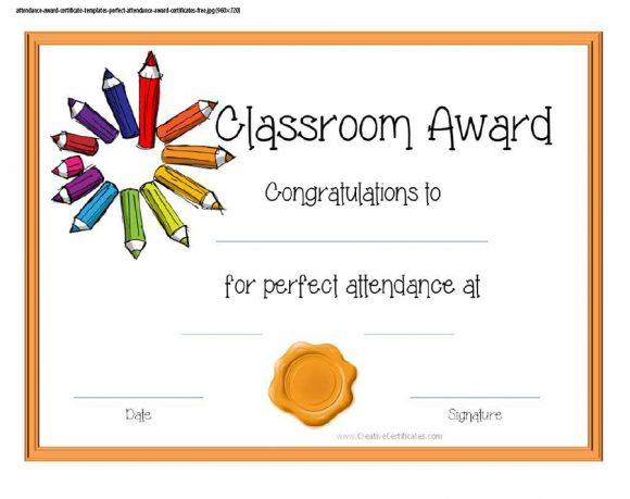 perfect attendance award 32