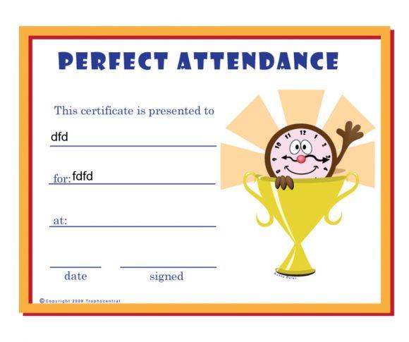 perfect attendance award 33