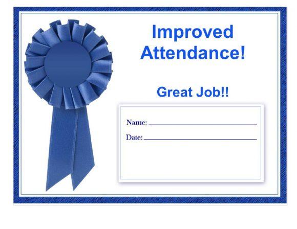 perfect attendance award 35