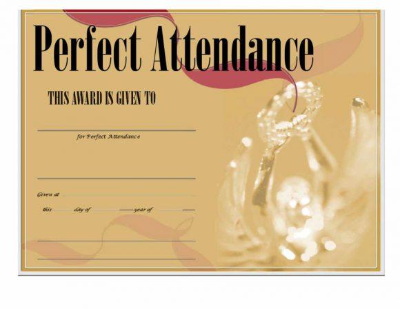 perfect attendance award 40