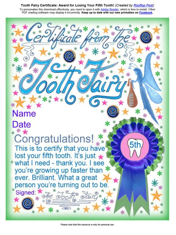 tooth fairy letter 05