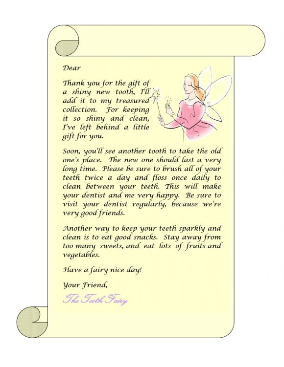 tooth fairy letter 14