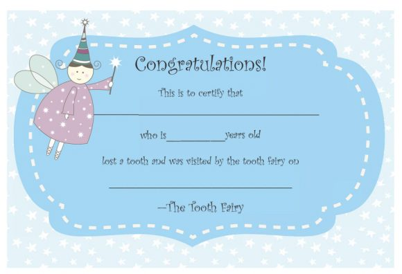 tooth fairy letter 18
