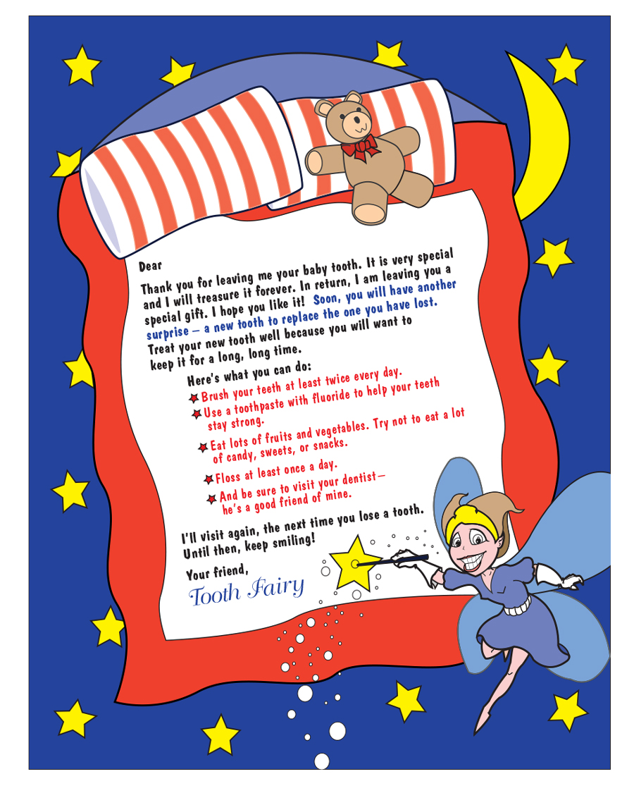 37 Tooth Fairy Certificates Letter Templates Printable Templates