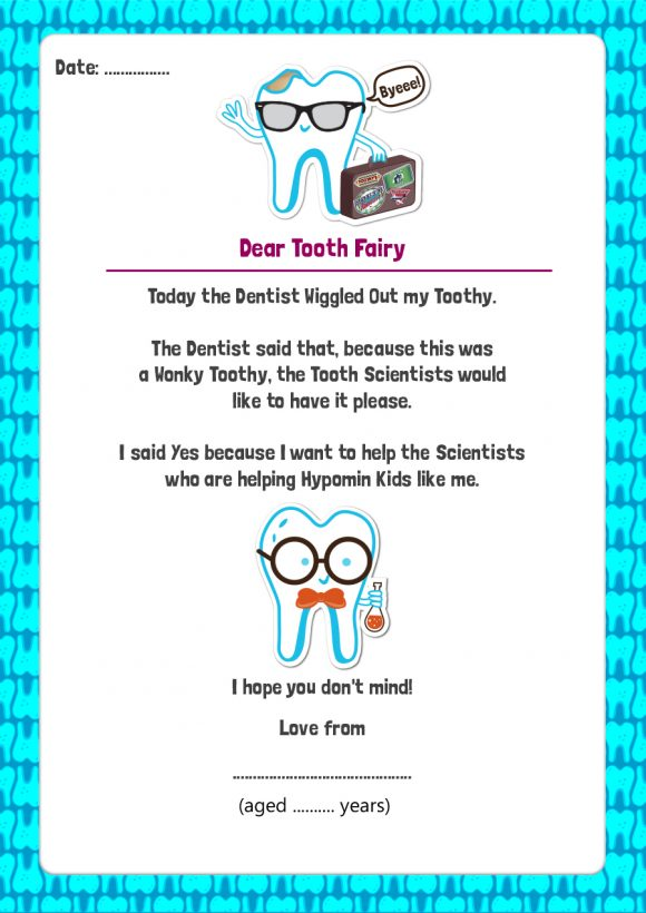 tooth fairy letter 32