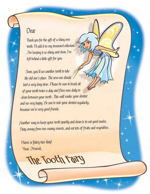 tooth fairy letter 35