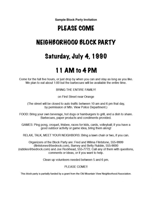 block party flyer 08