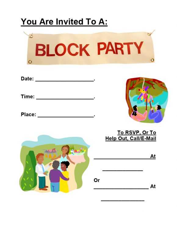 block party flyer 14