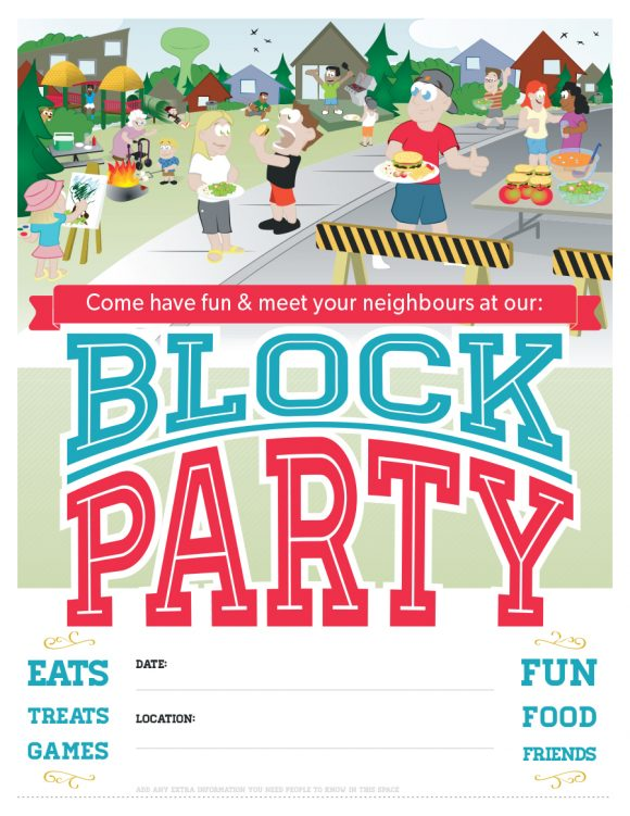 block party flyer 19