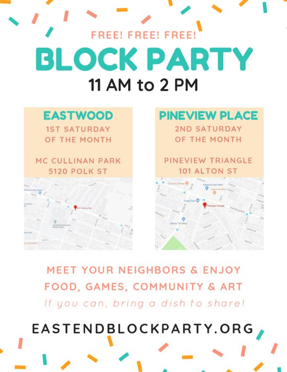 block party flyer 21