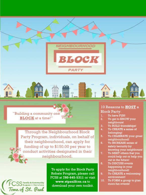 block party flyer 23