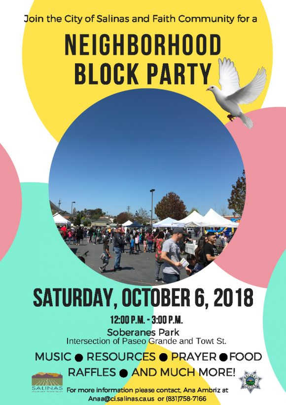 block party flyer 25