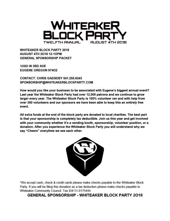 block party flyer 30