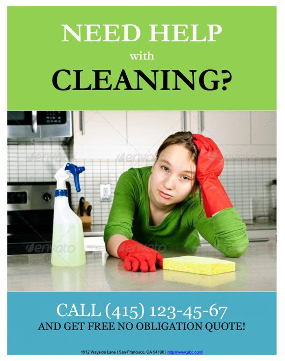 cleaning flyers 22