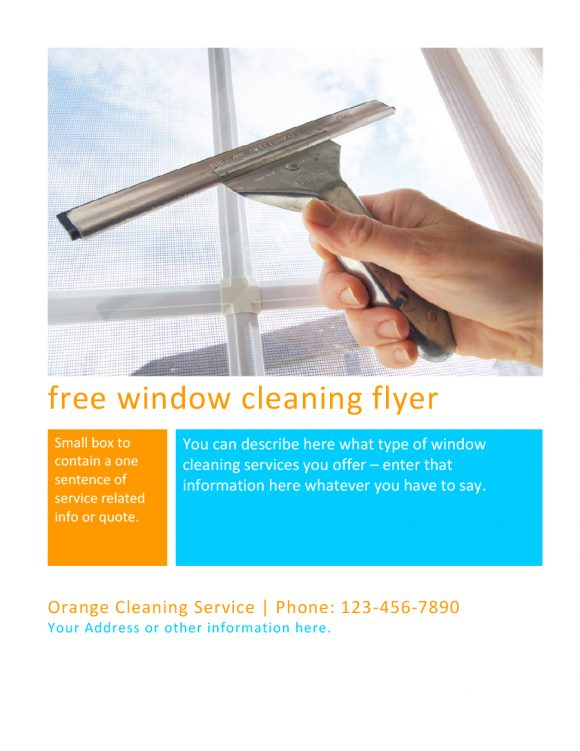 cleaning flyers 23