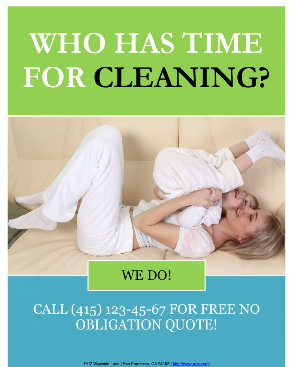 cleaning flyers 25
