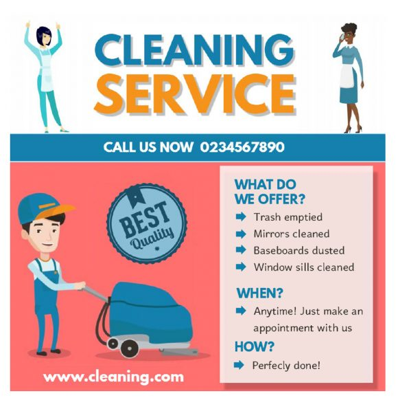 cleaning flyers 33
