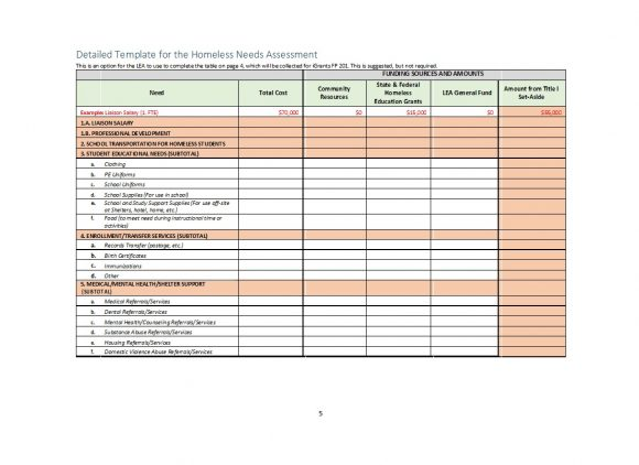 needs assessment template 06