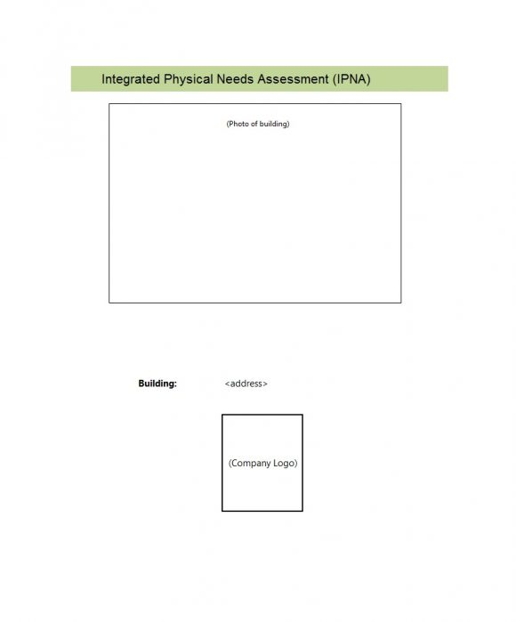 needs assessment template 16