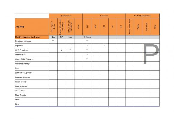 needs assessment template 22