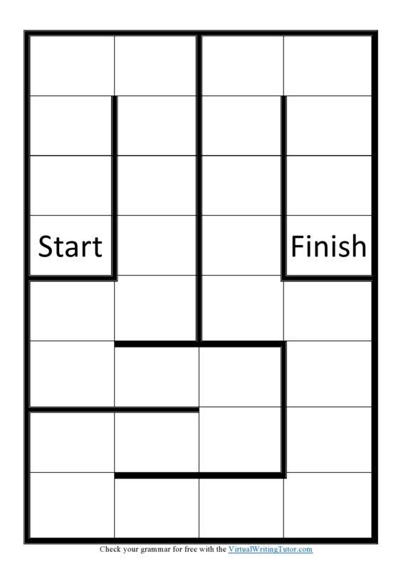 board game template 01