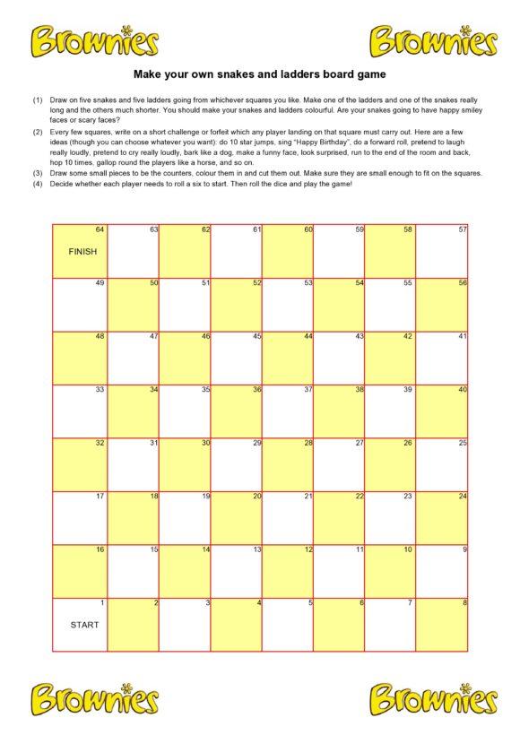 board game template 06