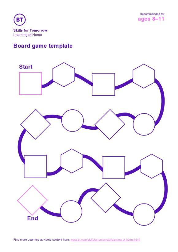 board game template 07