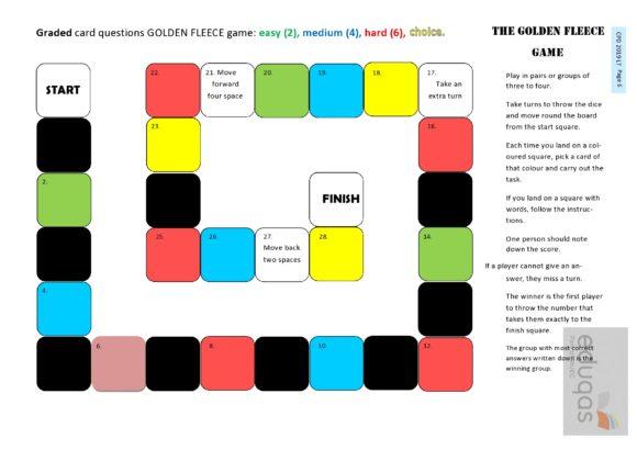 board game template 13