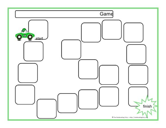 board game template 21