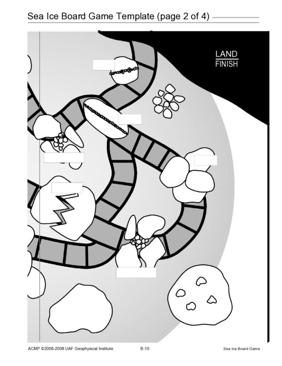 board game template 25