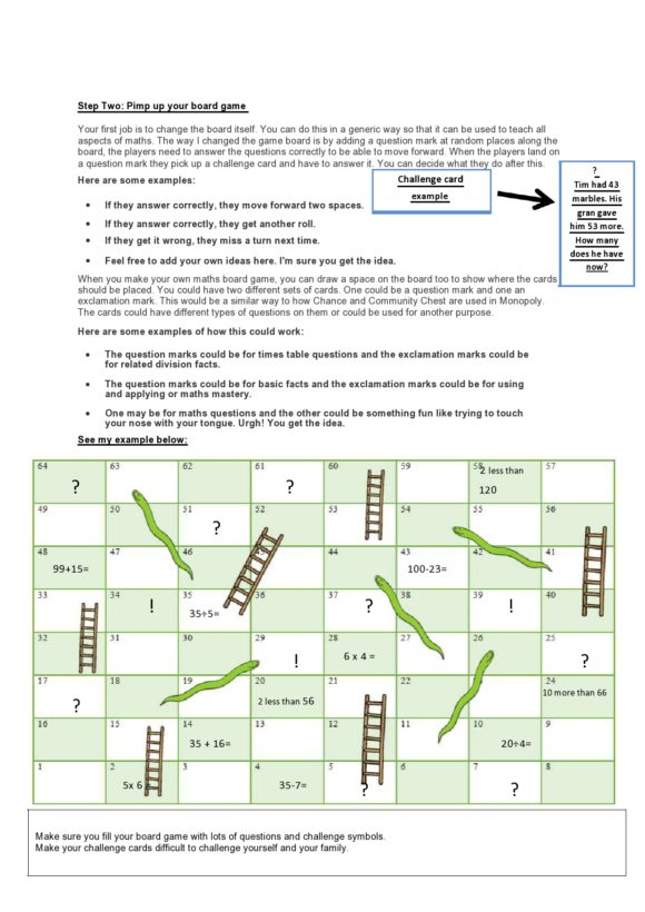 board game template 36