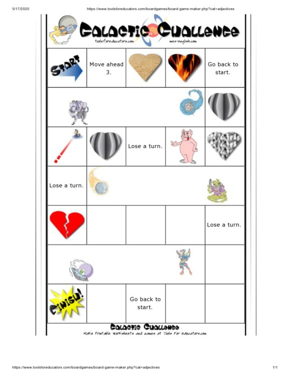 board game template 39