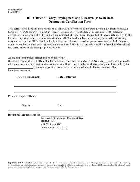 certificate of destruction 27