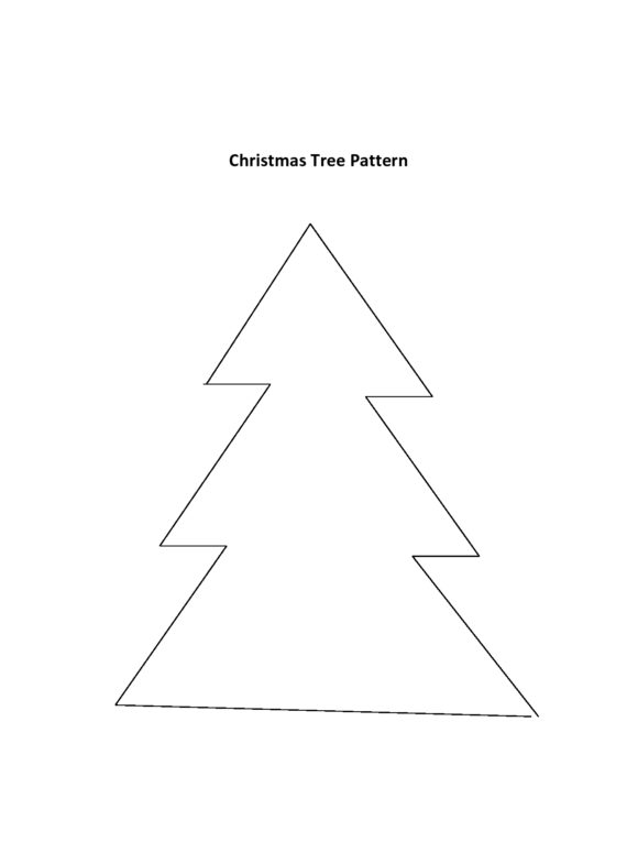 christmas tree template 05