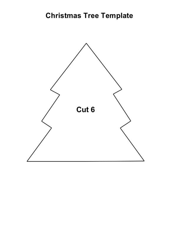 christmas tree template 07